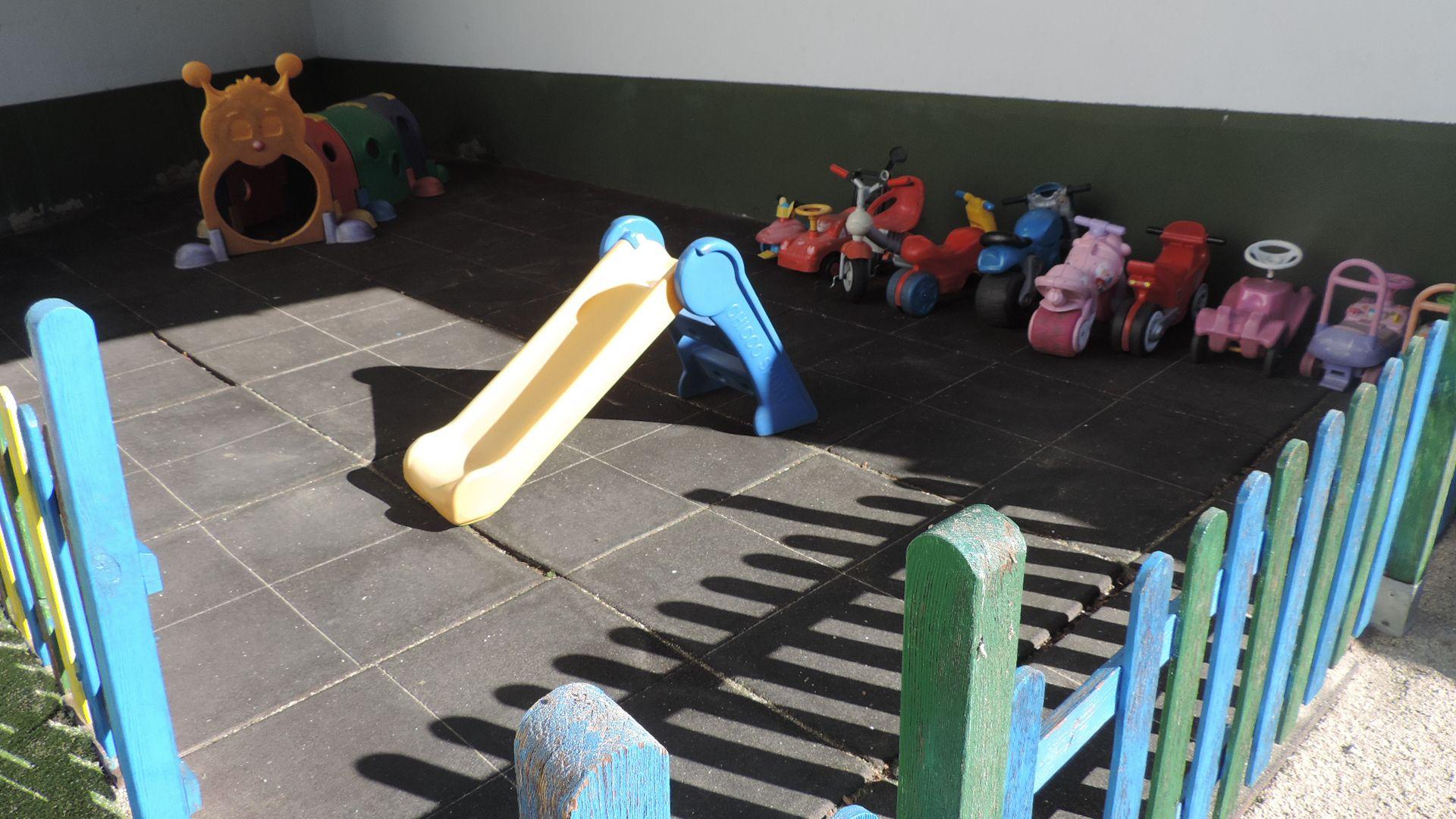 Juegos en el patio