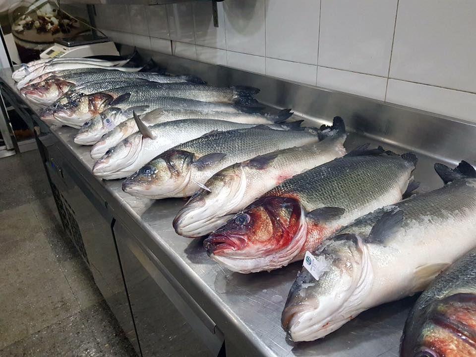 Pescados y mariscos a la parrilla