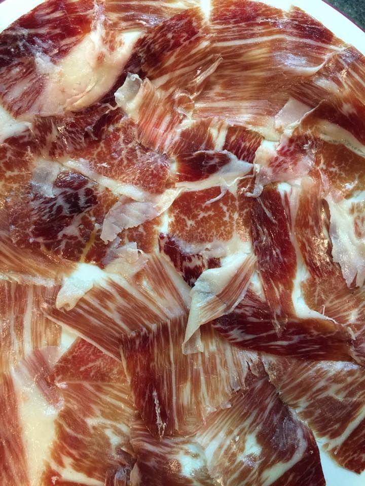 Tapas de jamón ibérico