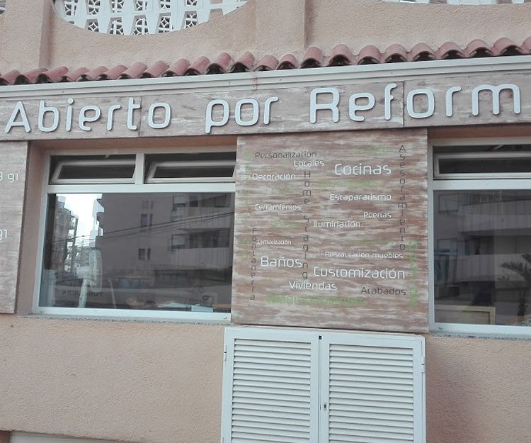 Empresa de reformas en Calpe