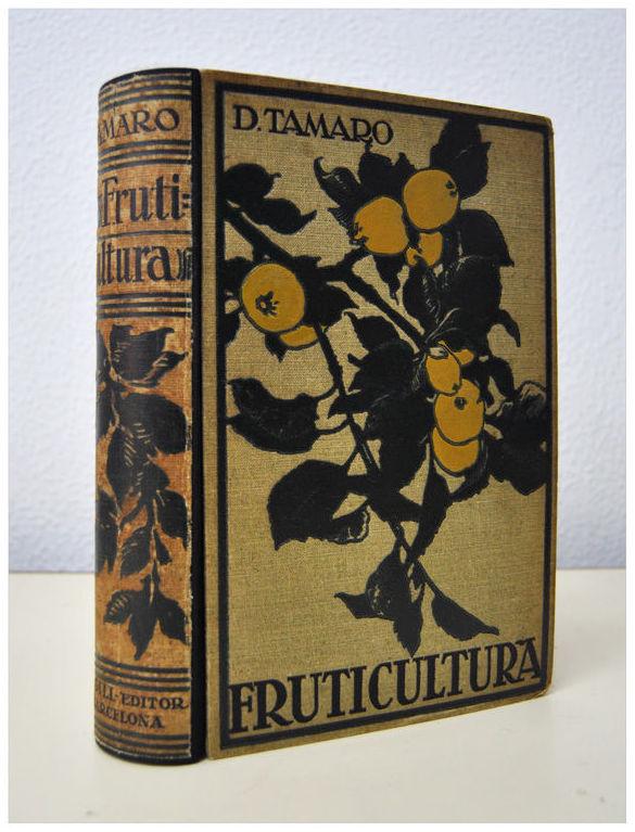 Restauración libro de fruticultura