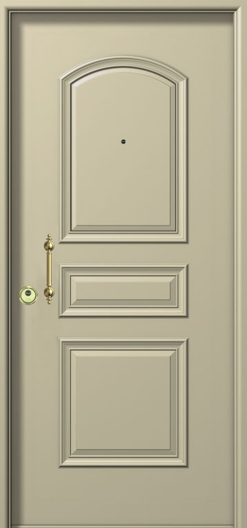 Puertas blindadas en Aluminio macizo: Productos y Servicios de Aluminco & Panel, S.L.