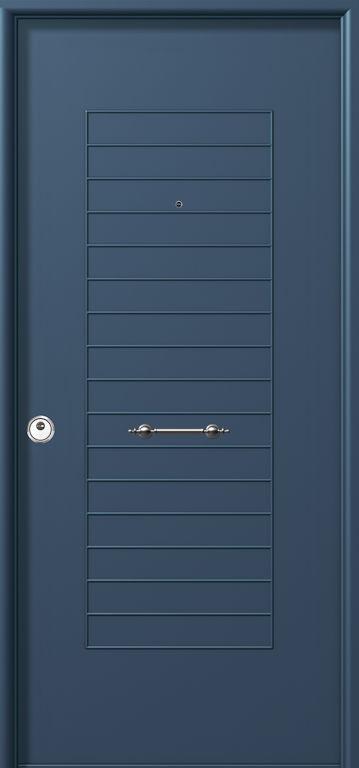 Puertas acorazadas en Aluminio macizo: Productos y Servicios de Aluminco & Panel, S.L.