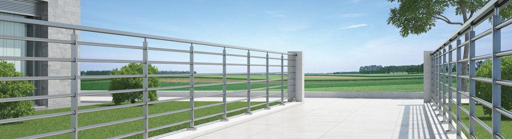 Sistema Moderno-Inox F50: Productos y Servicios de Aluminco & Panel, S.L.