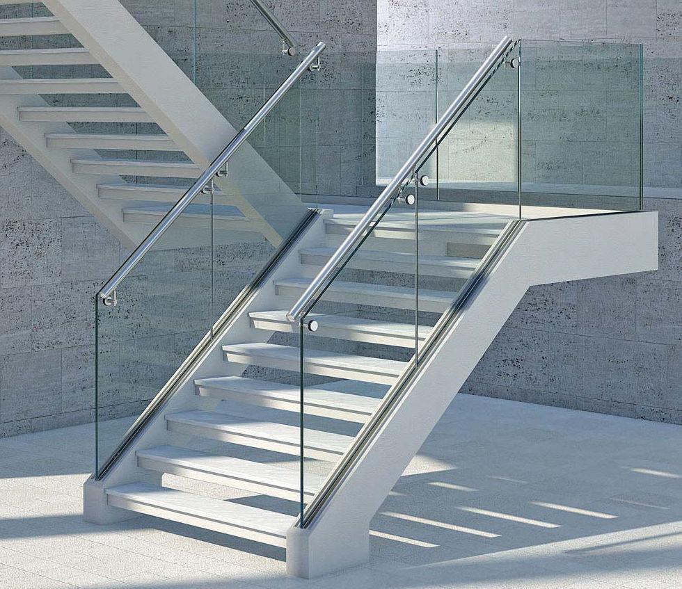 Barandillas de cristal y aluminio : Productos y Servicios de Aluminco & Panel, S.L.