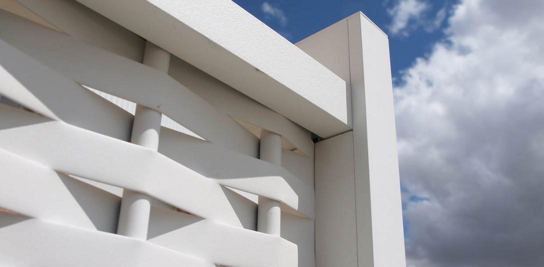 Celosías de aluminio: Productos y Servicios de Aluminco & Panel, S.L.