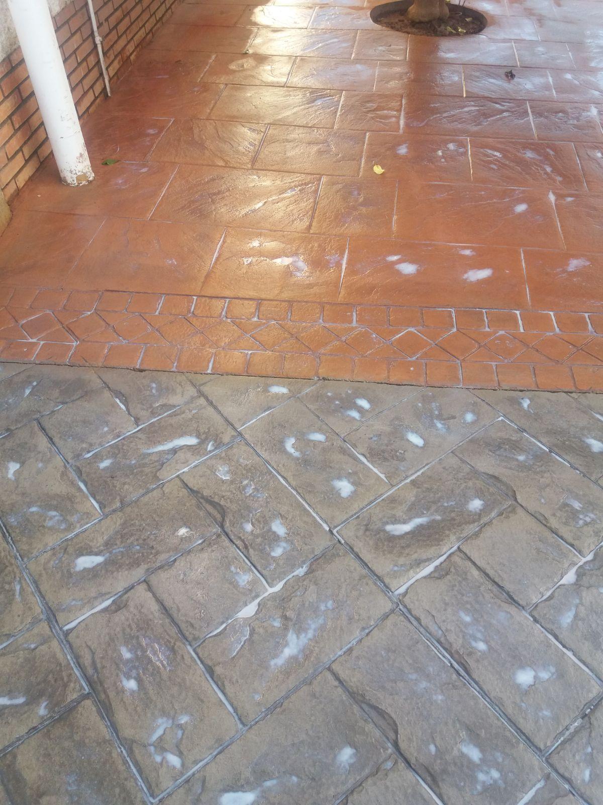 Hormigón impreso y pulido en Sevilla