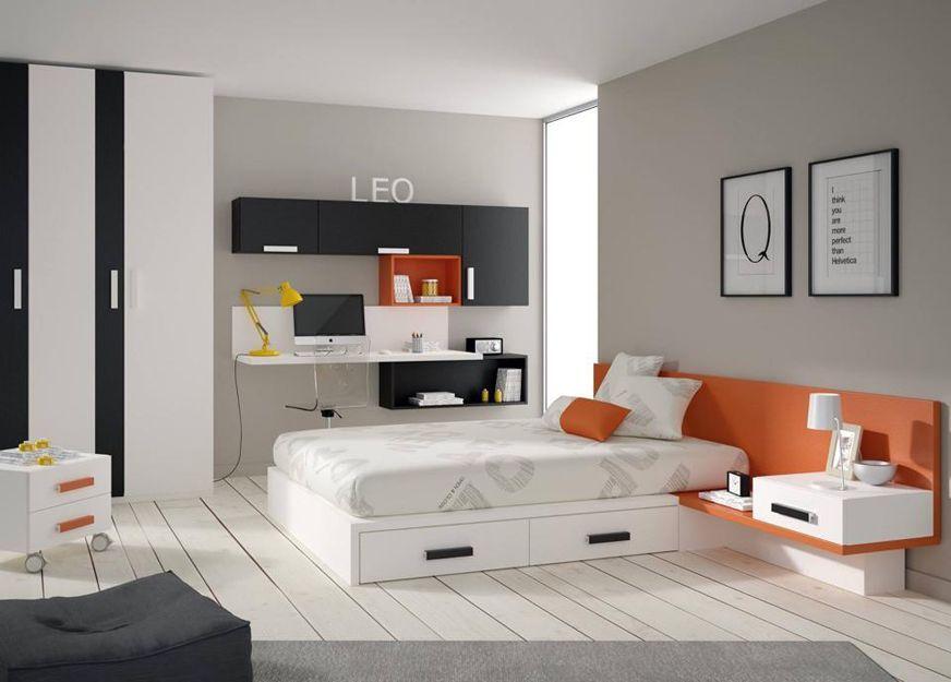Dormitorios modernos en Valencia