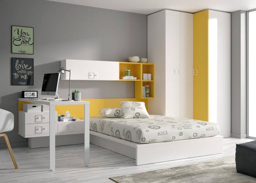 Dormitorios modernos en Oliva