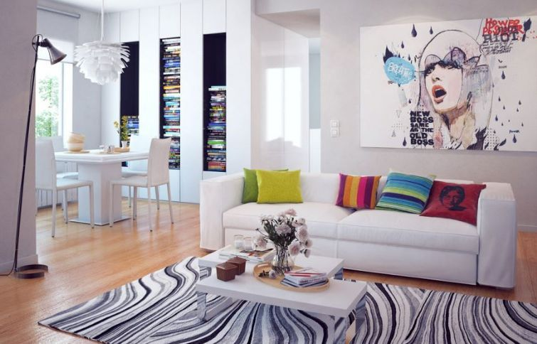 Salón moderno en Oliva