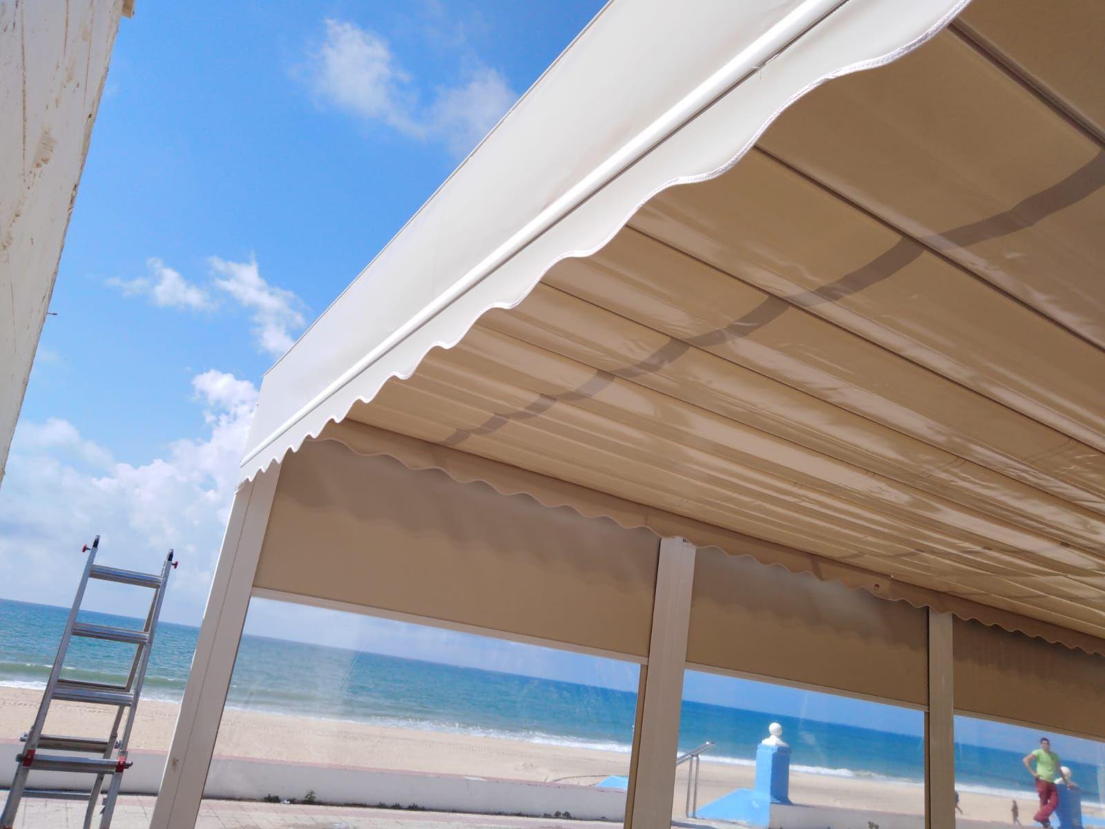 Instalación de toldos en Huelva