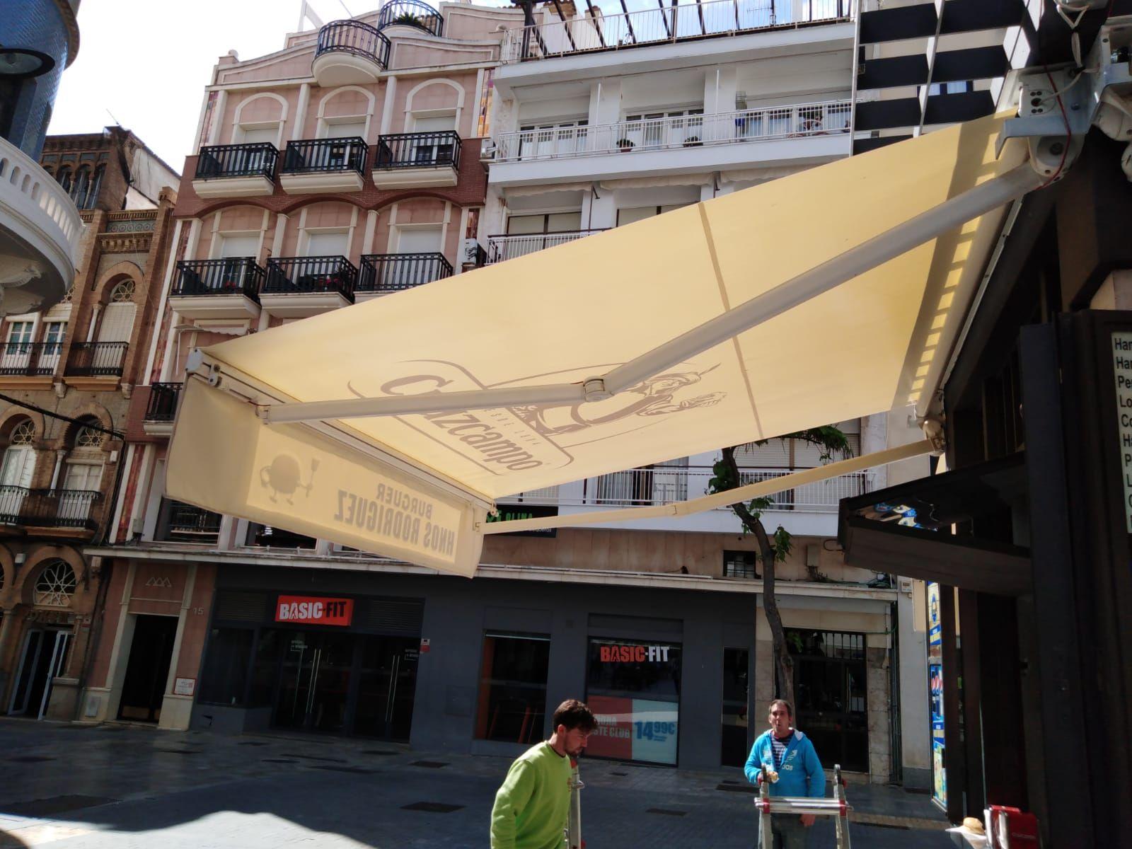 Fábrica de toldos en Huelva