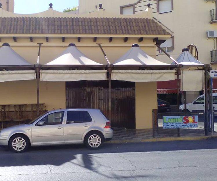 Venta e instalación de toldos en Huelva