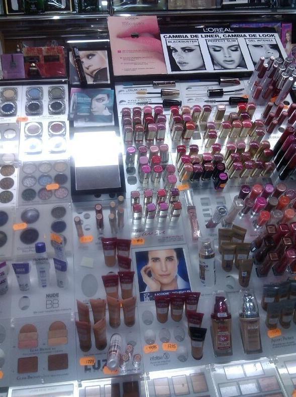 Artículos de maquillaje