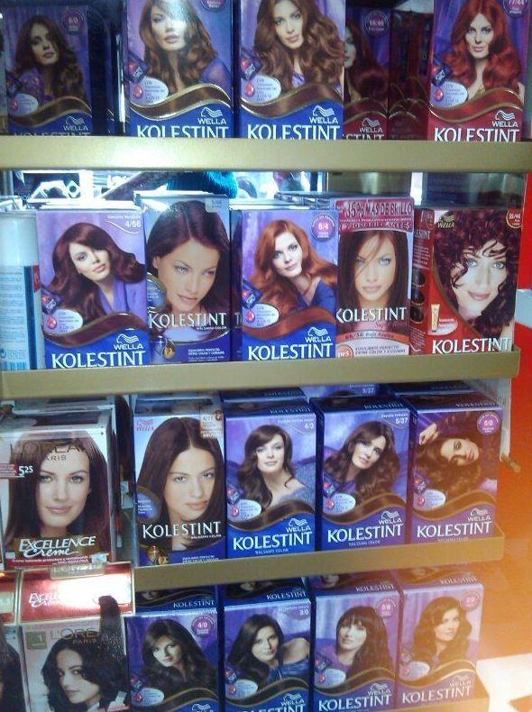 Variedad de tintes para el pelo en  Torrejón de Ardoz