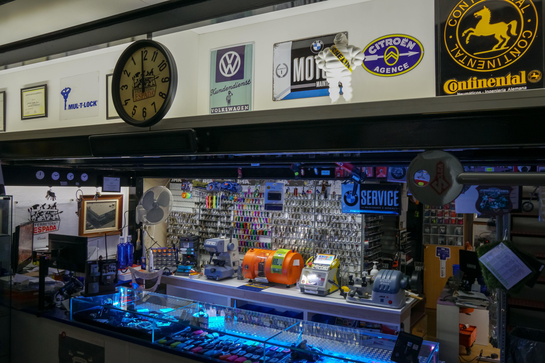 Servicio de duplicado de llaves y mandos de garaje