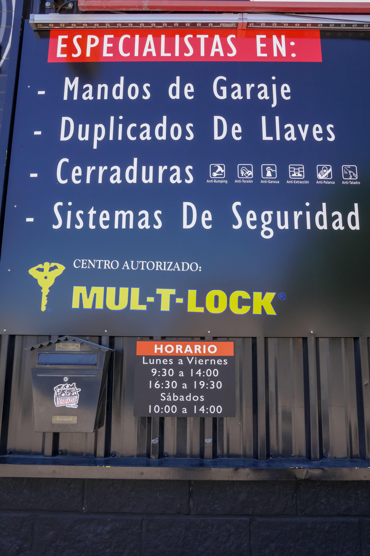 Cerraduras y sistemas de seguridad en Collado Villalba