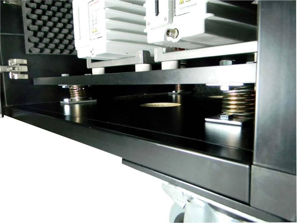 Anti-vibratory springs