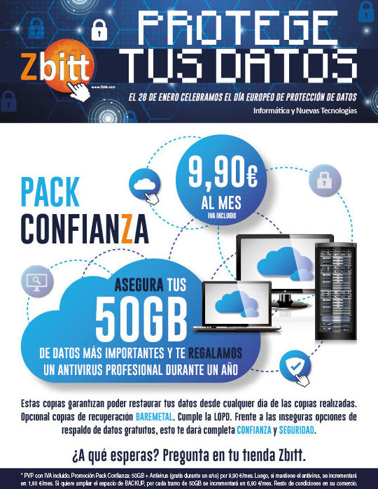 Protege tus datos SH Sistemas informaticos