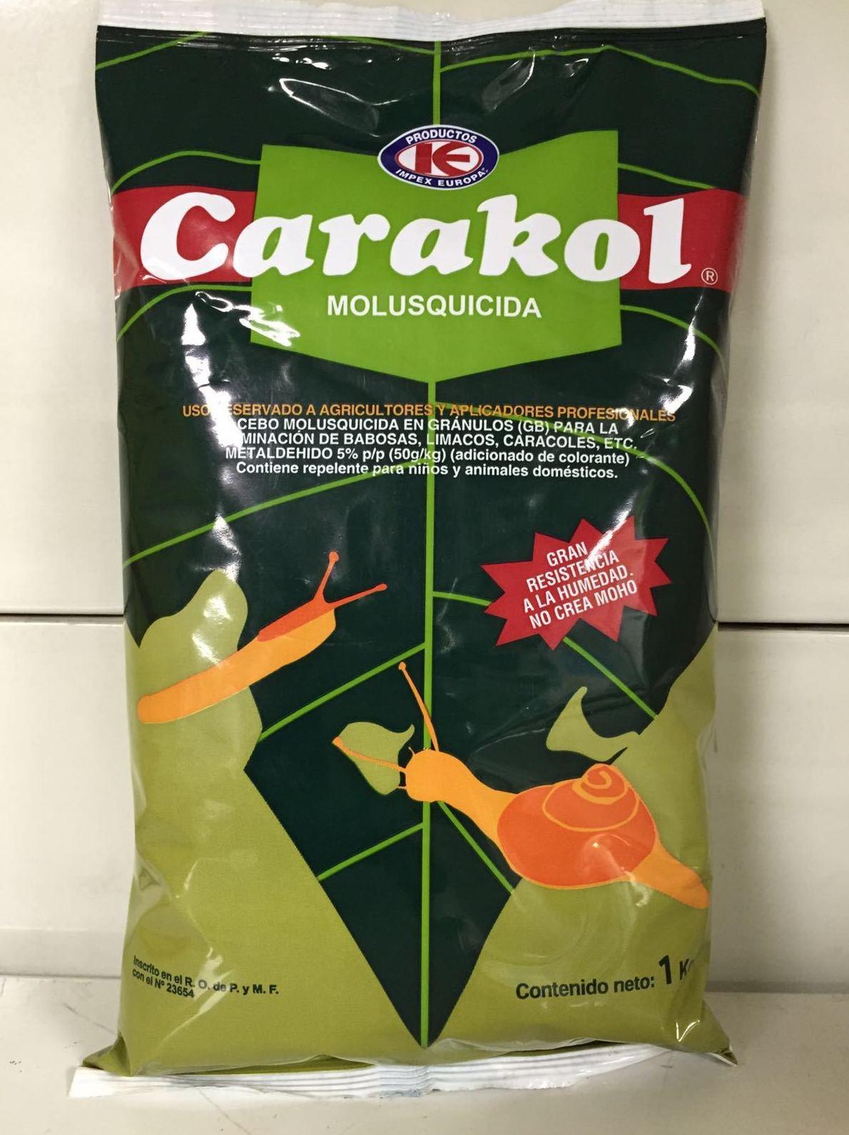 Pesticidas para combatir plagas de caracoles