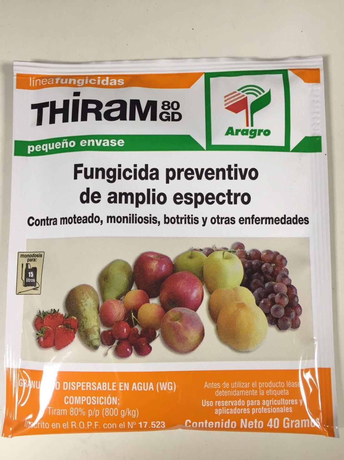 Fungicida preventivo de ampllio espectro