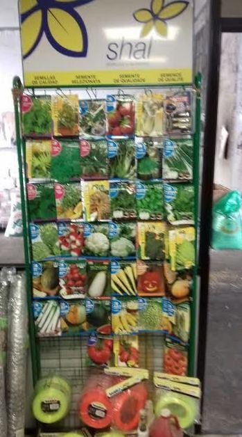 Venta de semillas en Gallarta