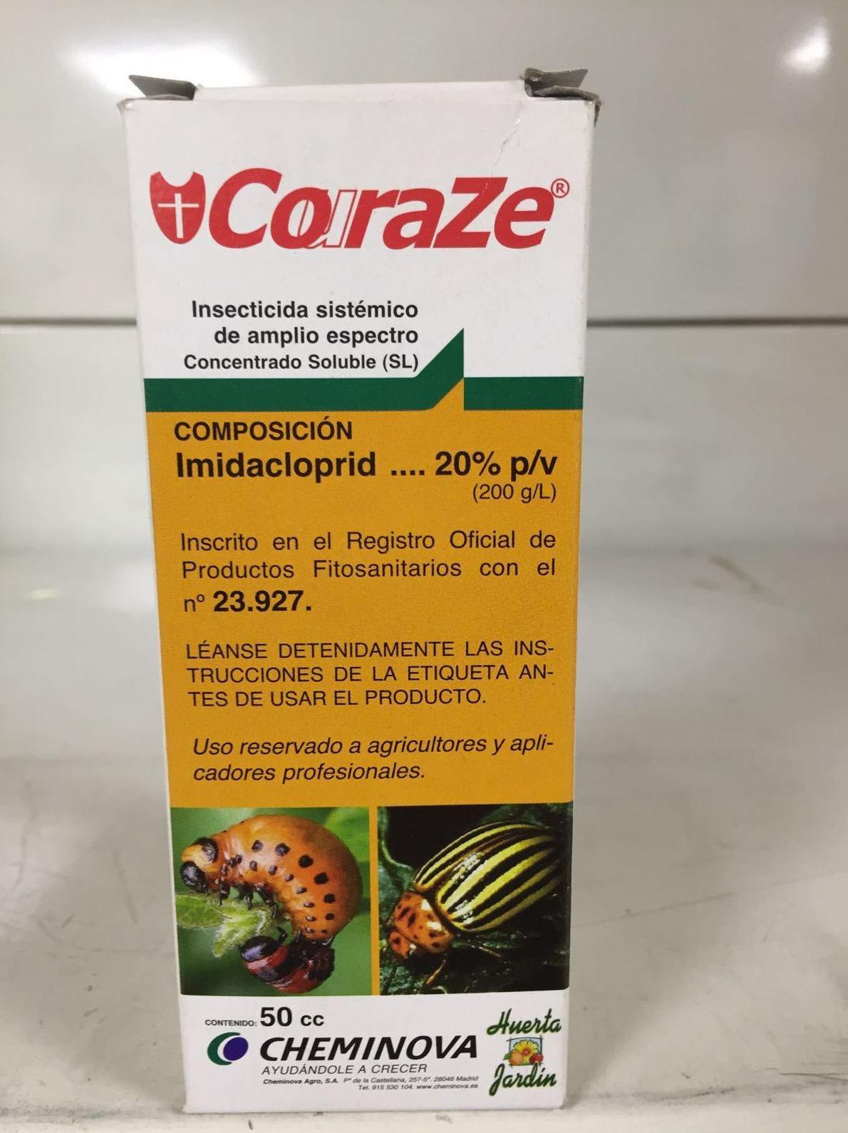 Insecticida para plagas en agricultura