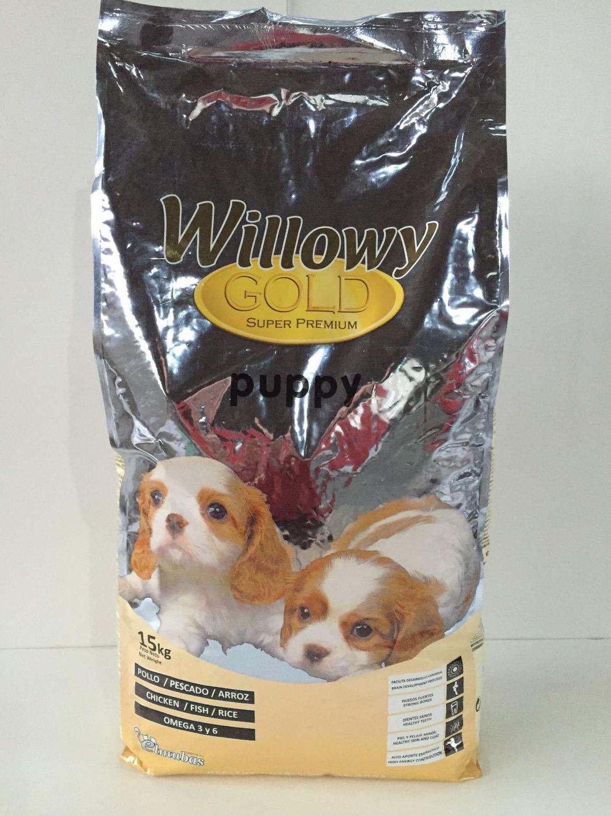 Alimento para perros cachorros