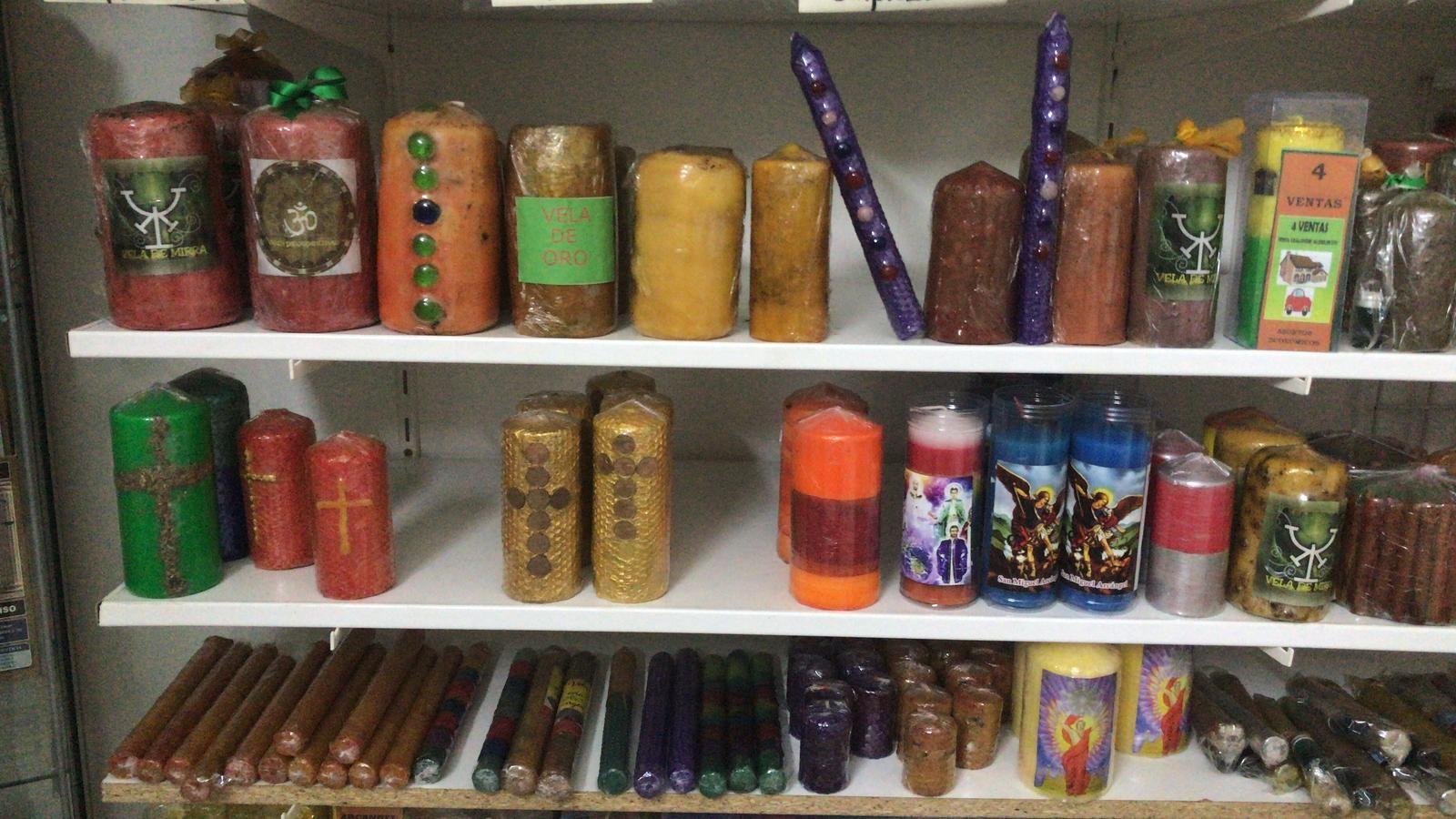 Gran variedad de velas de luz en Las Palmas