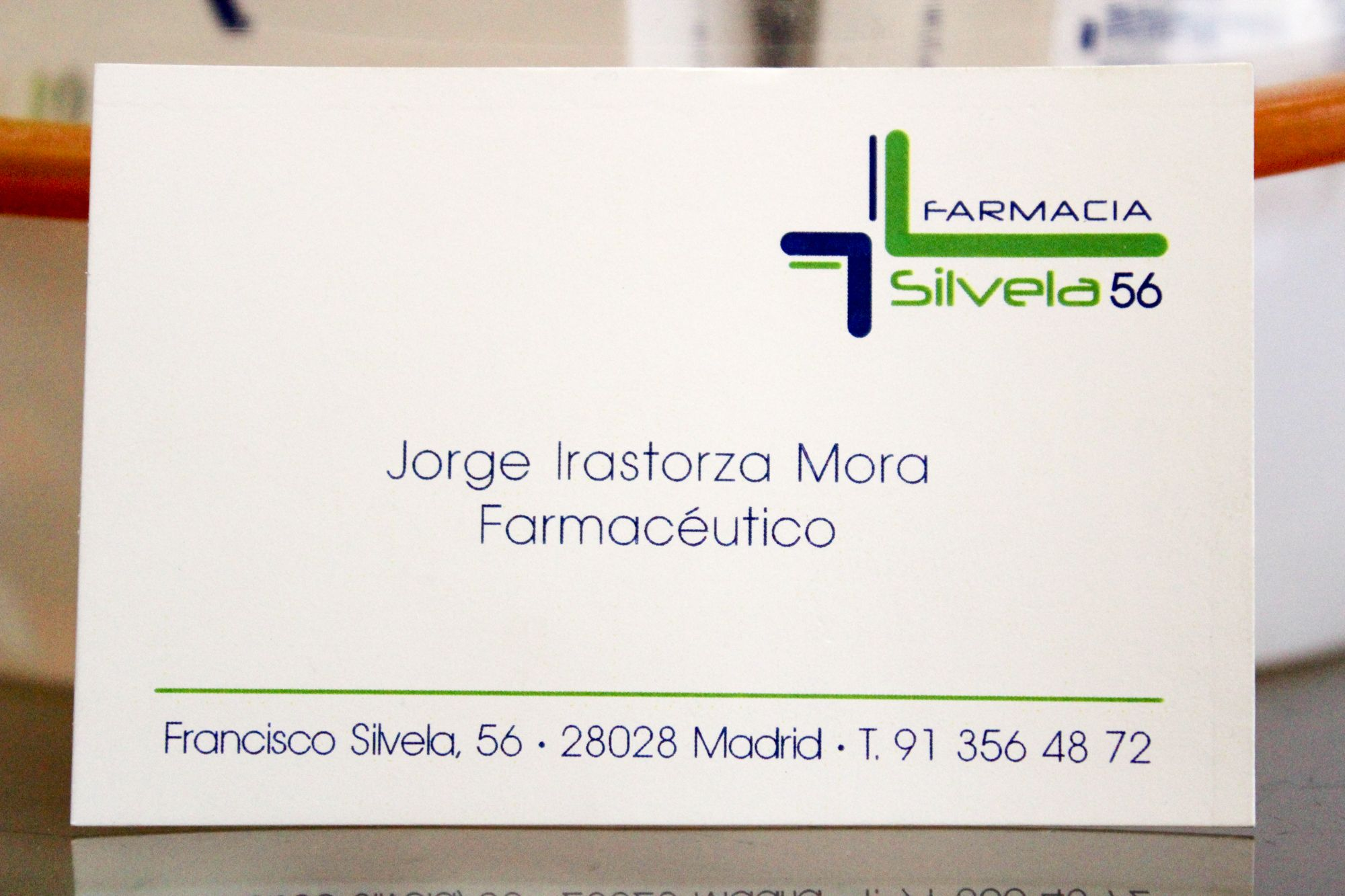 Foto 3 de Farmacias en Madrid | Farmacia Silvela 56