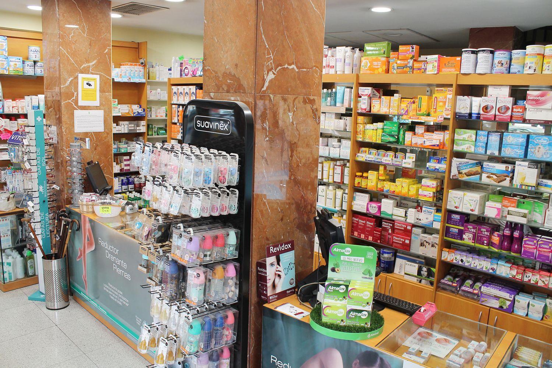 Interior de nuestra farmacia