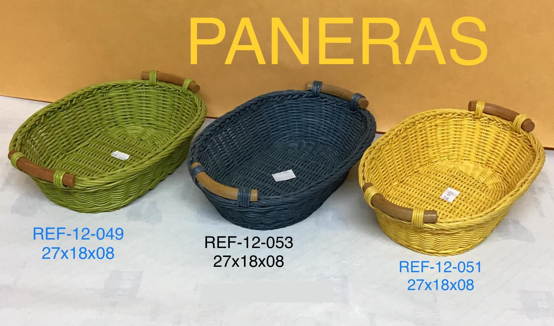 PANERA RECT  MED/NAT C/ASA 16X12X6