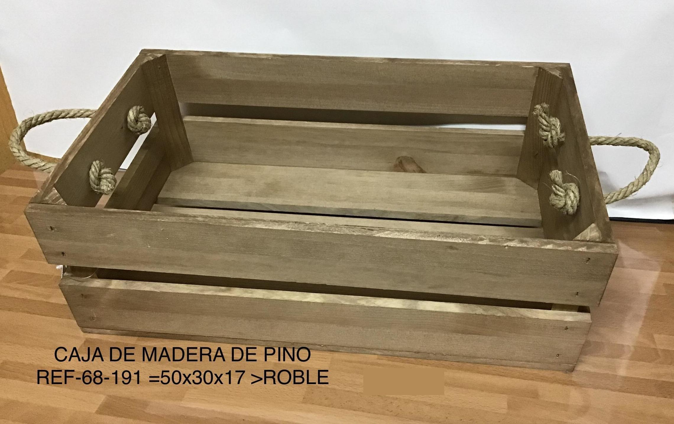 CAJAS DE MADERA EN MADRID