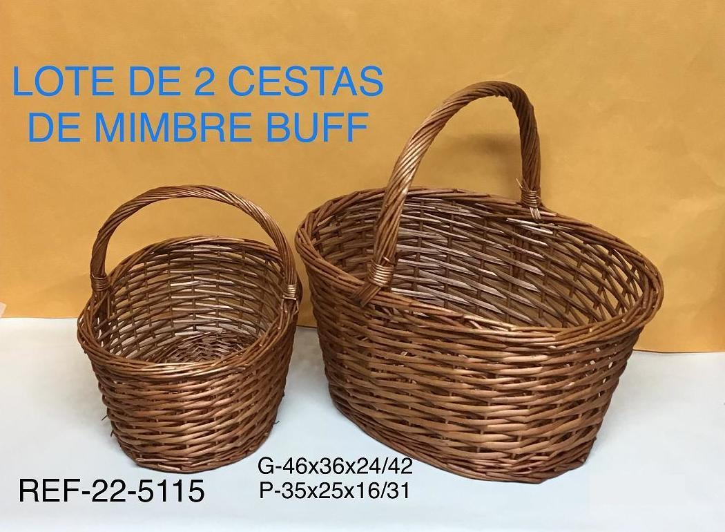 JGO 2 CESTAS ASA BUF G46X33X45
