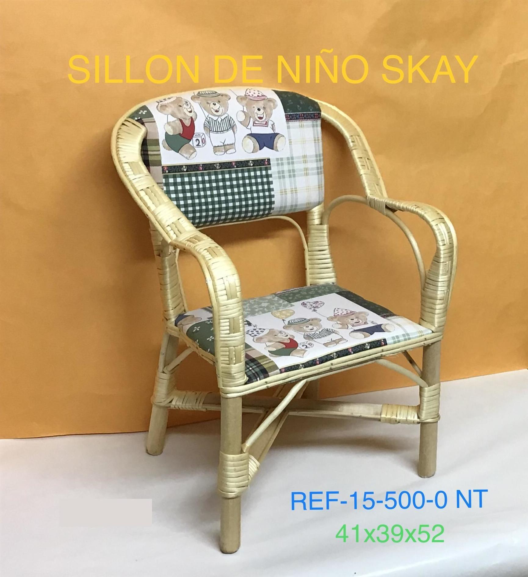 15-500-0NT SILLON  NIÑO SKAY NT 41X39X52
