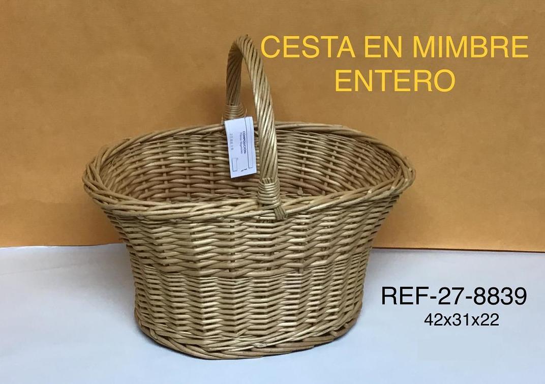 CESTA MIMBRE BUFF 42X31X22