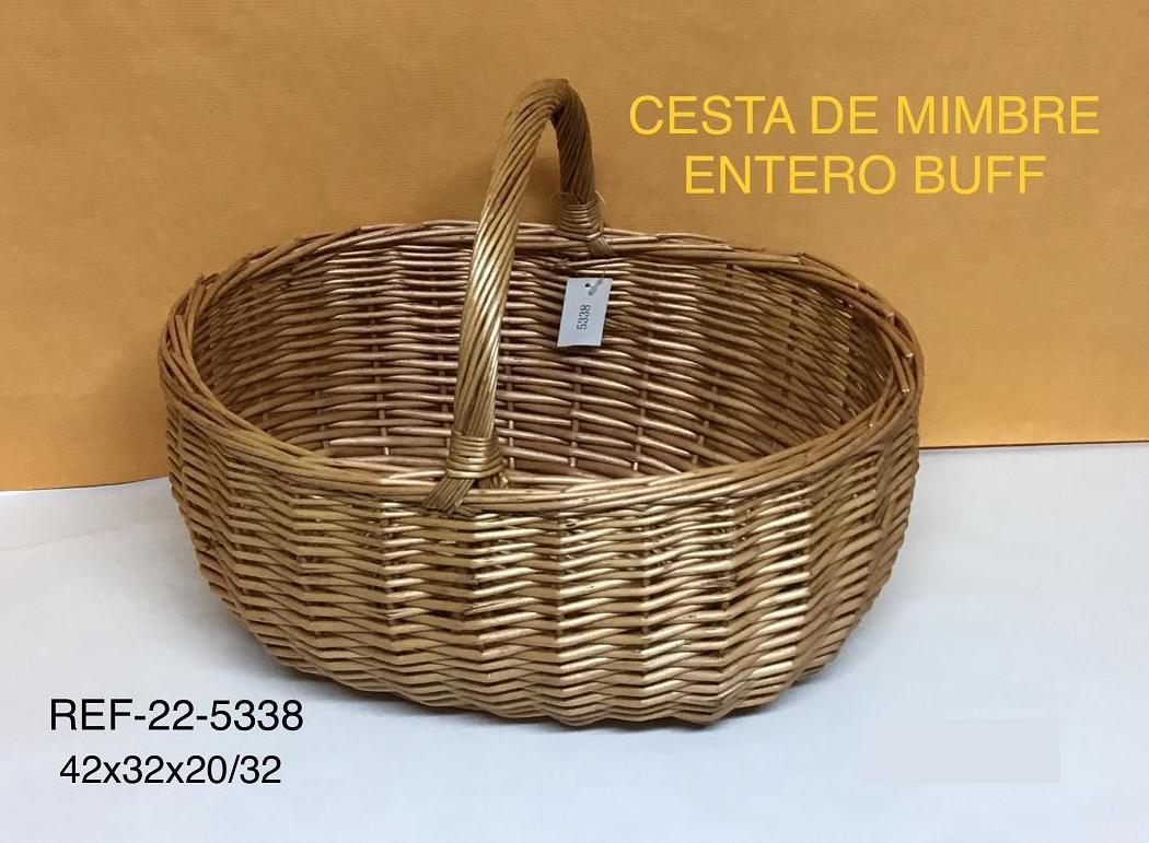 CESTA MIMBRE BUFF 43X35X21