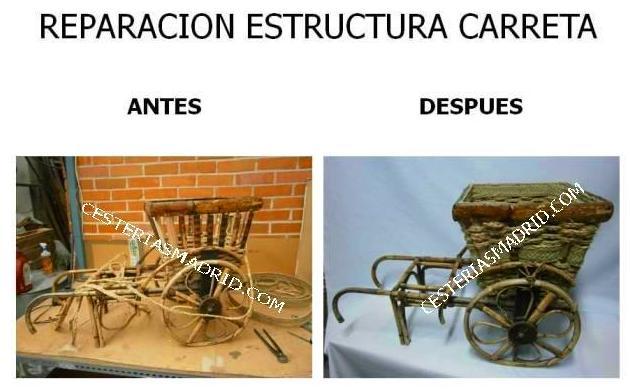REPARACION ESTRUCTURA CARRETA