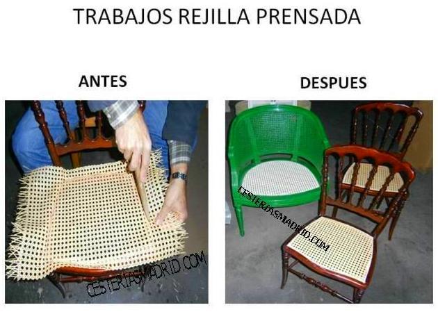TRABAJOS REJILLA PRENSADA