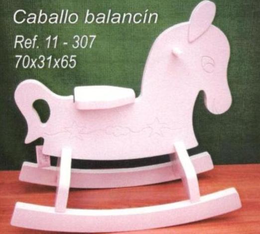 CABALLO MADERA INFANTIL EN MADRID