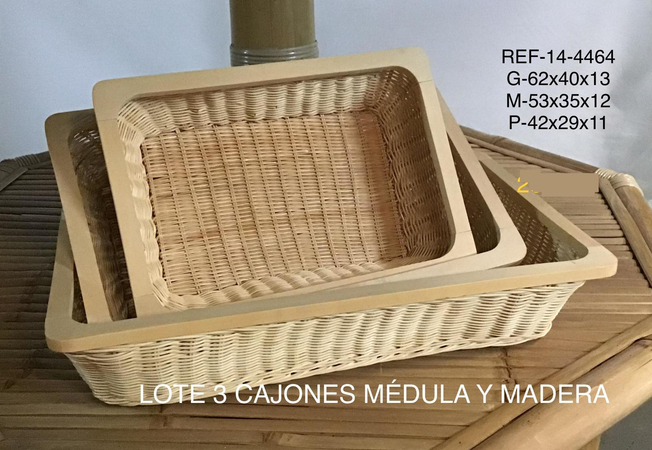 LOTE 3 BANDEJAS MADERA EN MADRID