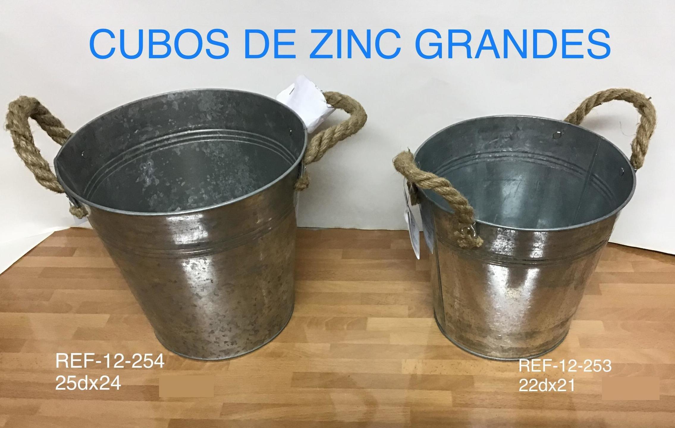 CUBOS CINC ASA ESPARTO EN MADRID
