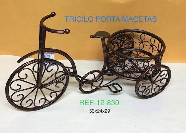 TRICICLO PORTAMECETAS