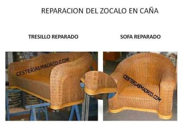 REPARACION DEL ZOCALO EN CAÑA