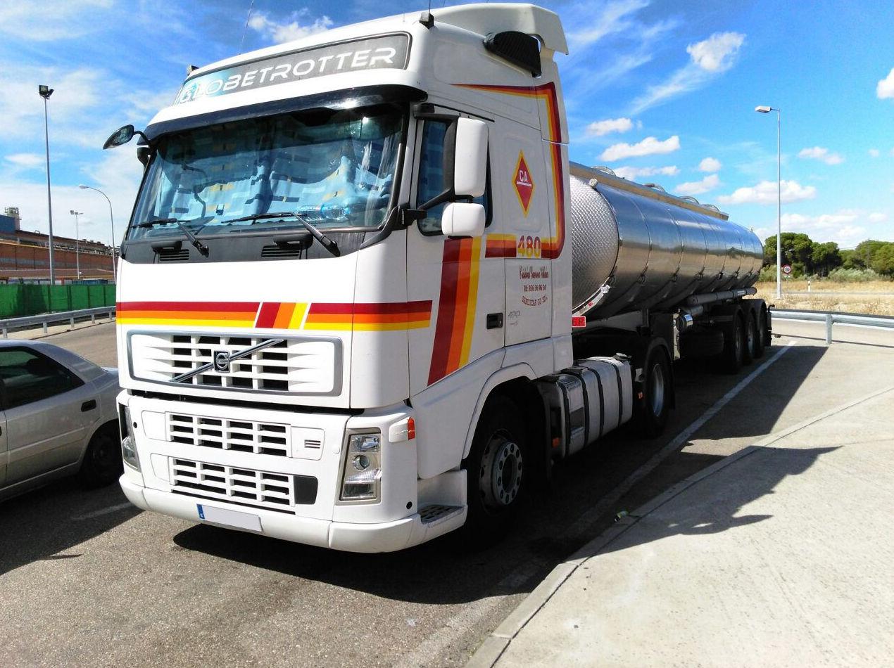 Empresa especializada en el transporte de líquidos alimentarios