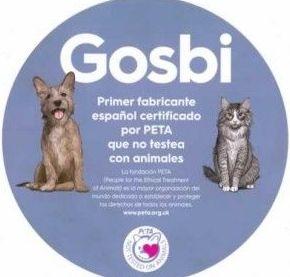 Gosbi,primer fabricante español certificado por PETA