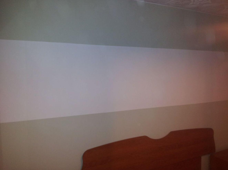 Pintura con franjas horizontales