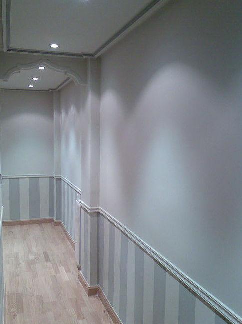 Eliminación de gotelé y alisado de paredes