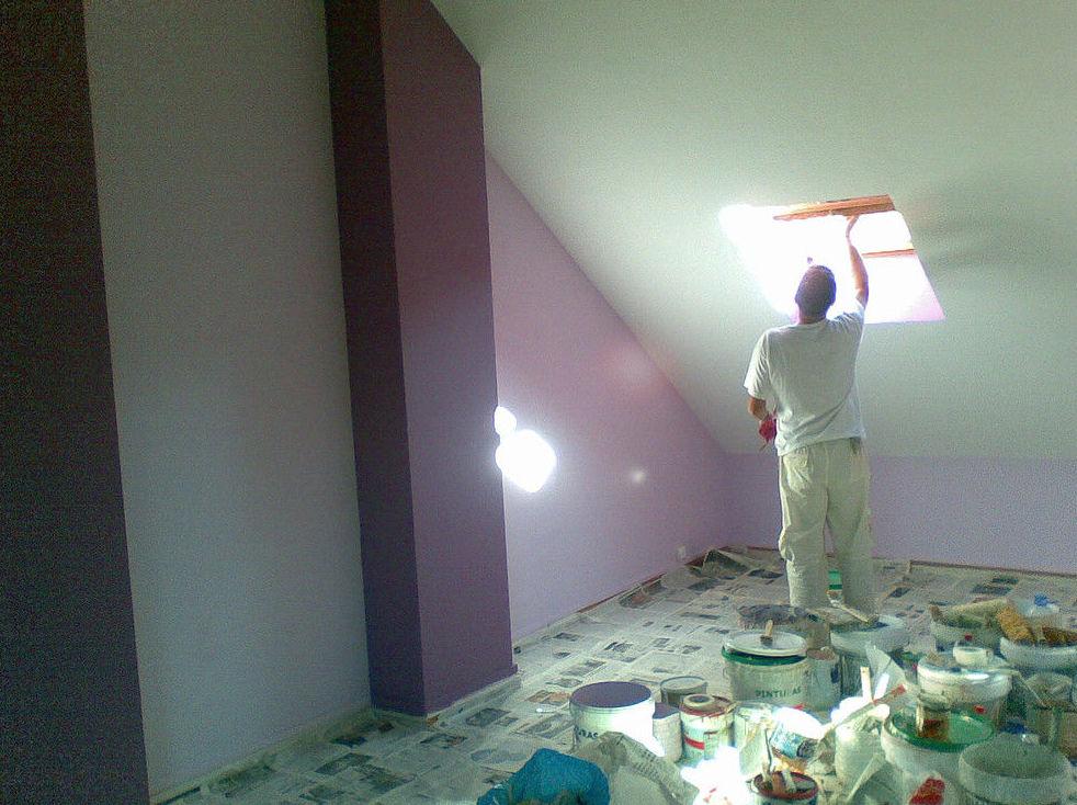 Trabajo de pintura en Zaragoza