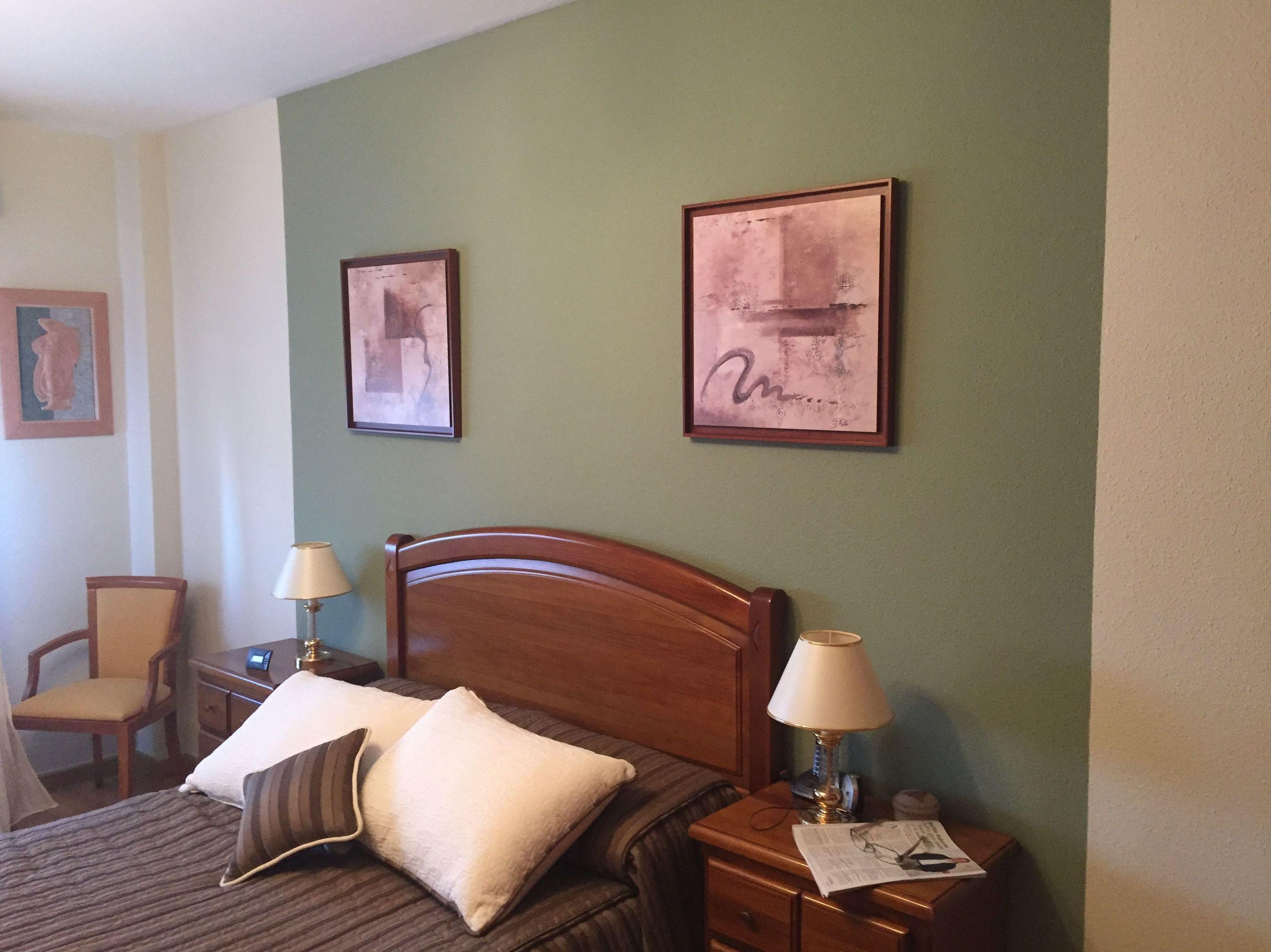 Pintura de habitación en varios colores